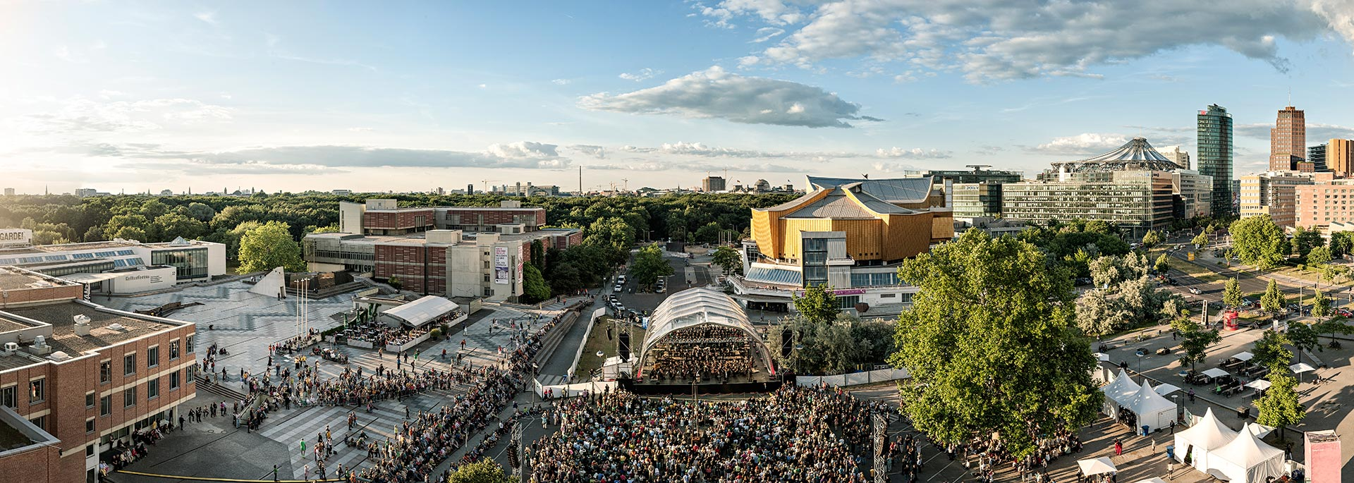 Panorama Berlin Berliner Philharmoniker