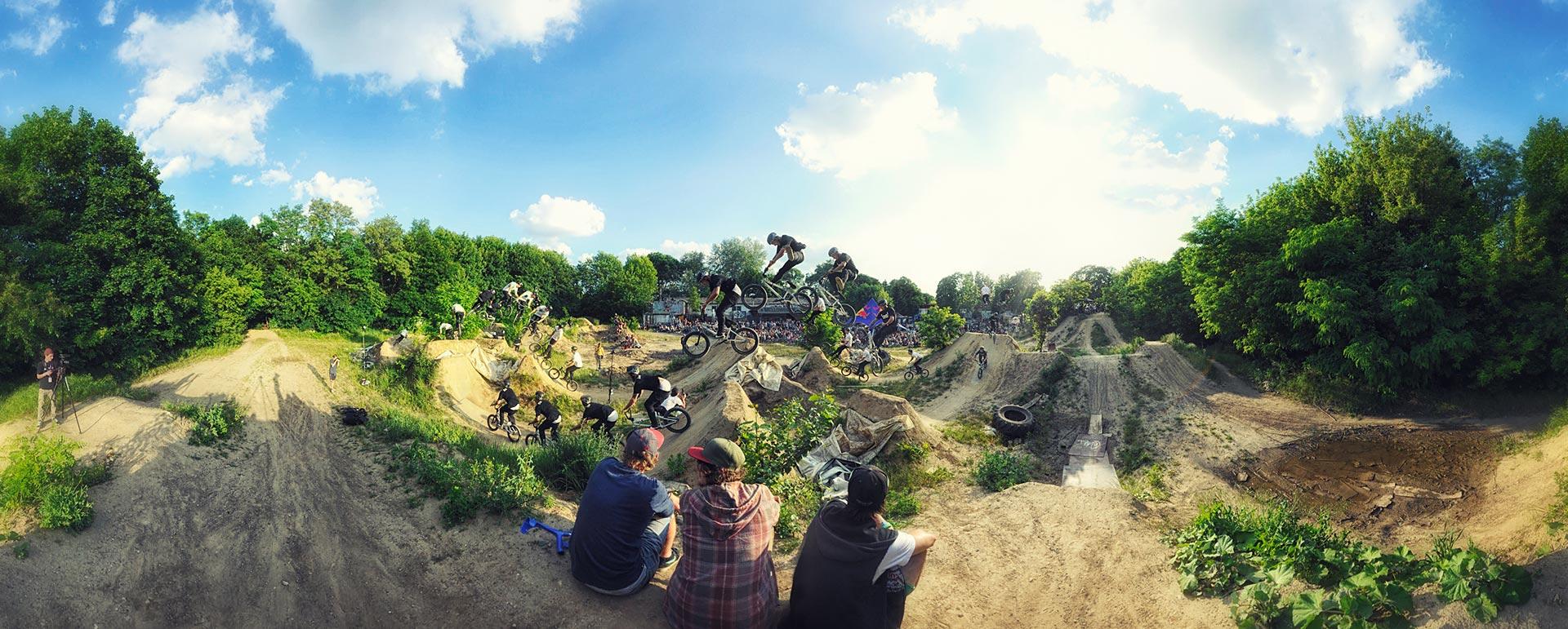 Panorama Foto BMX Action