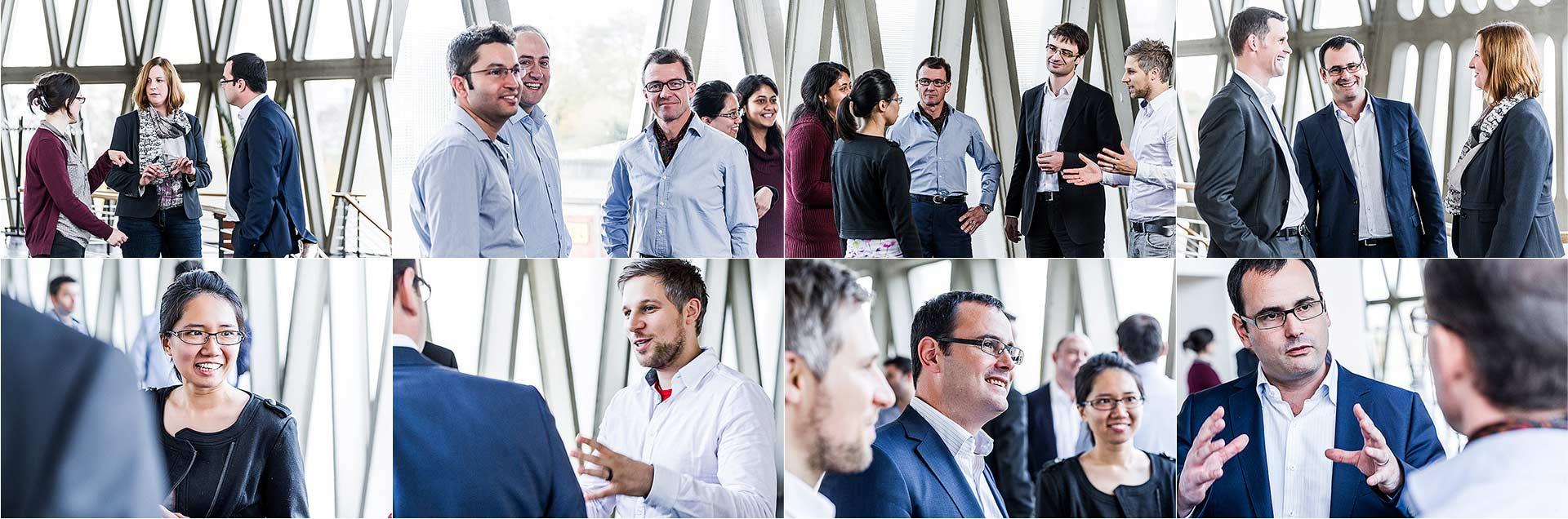 Portraits Business und Gruppenfoto