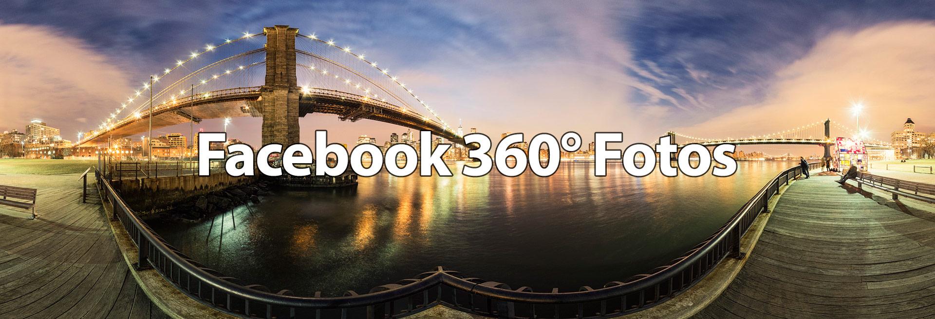 360 Grad fotos auf Facebook einbinden