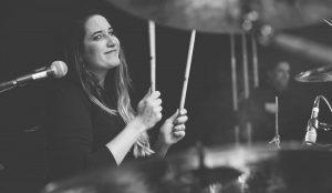 Konzert Berlin Fotograf Schlagzeugerin