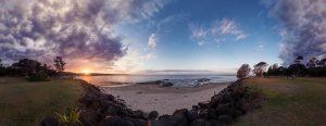 Sunset Camping by Tobi Bohn Panorama 360 Fotograf