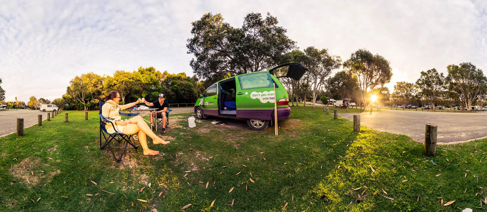Camping Van by Tobi Bohn Panorama 360 Fotograf