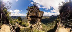 Three Sisters Blue Mountain by Tobi Bohn Panorama 360 Fotograf