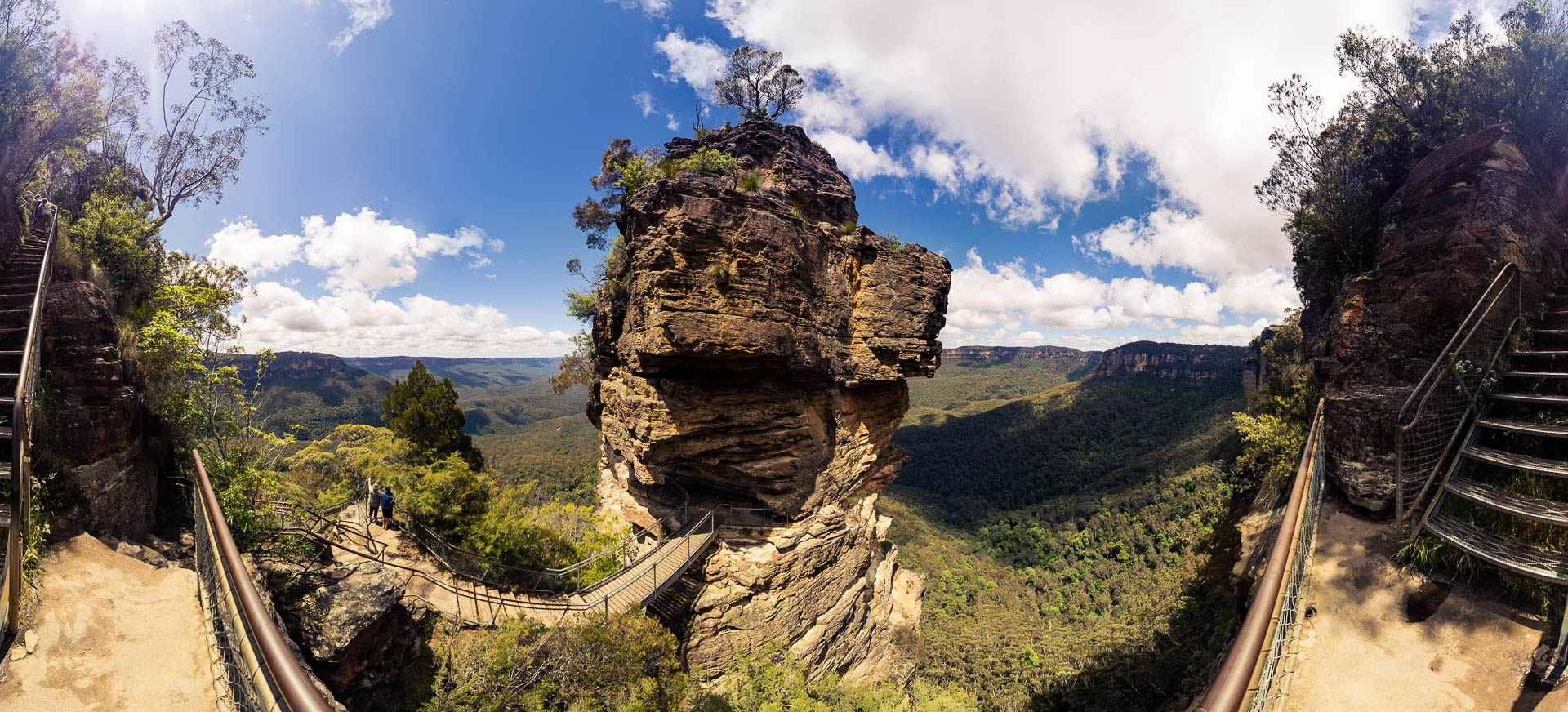 Three Sisters Blue Mountain by Tobi Bohn Panorama 360 Fotograf