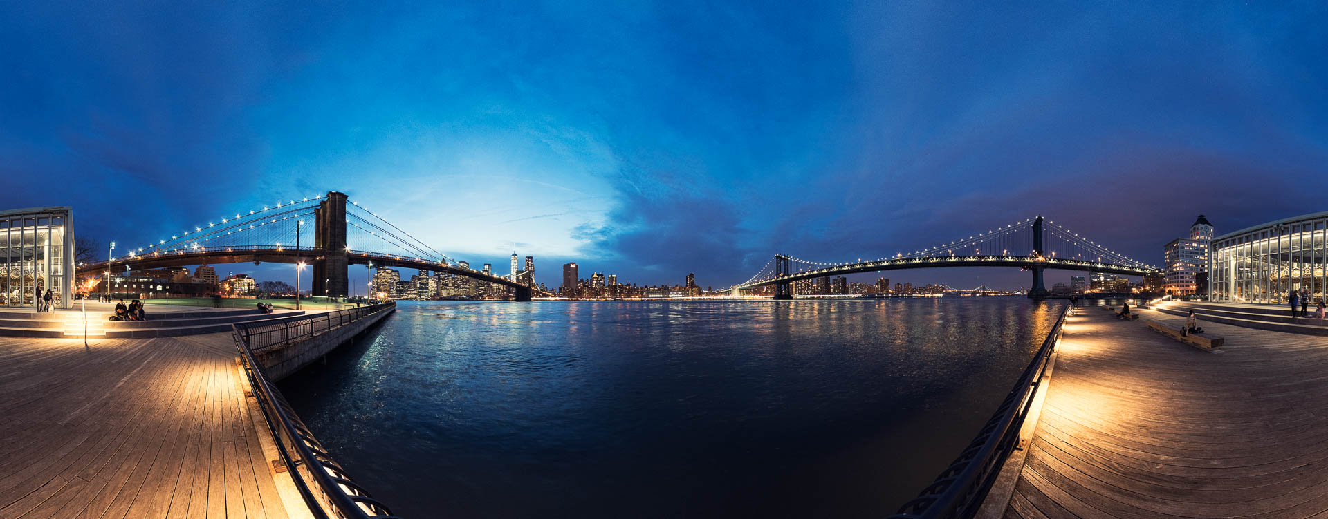 NYC DUMBO Brooklyn Bridge by Tobi Bohn Panorama 360 Fotograf