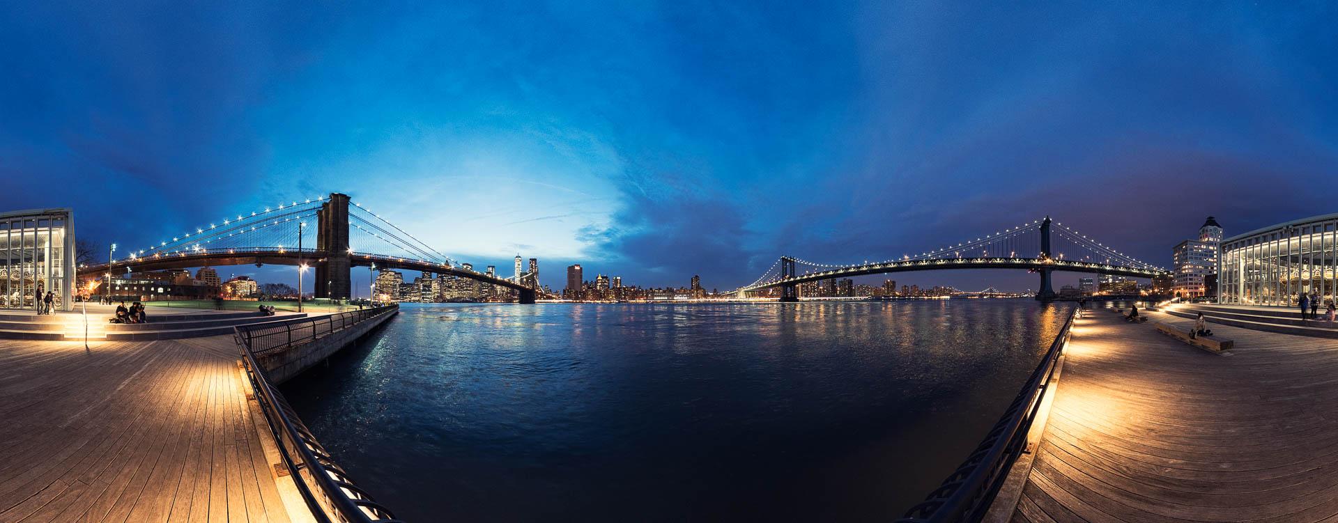 NYC DUMBO Brooklyn Bridge by Tobi Bohn Panorama 360 Fotograf