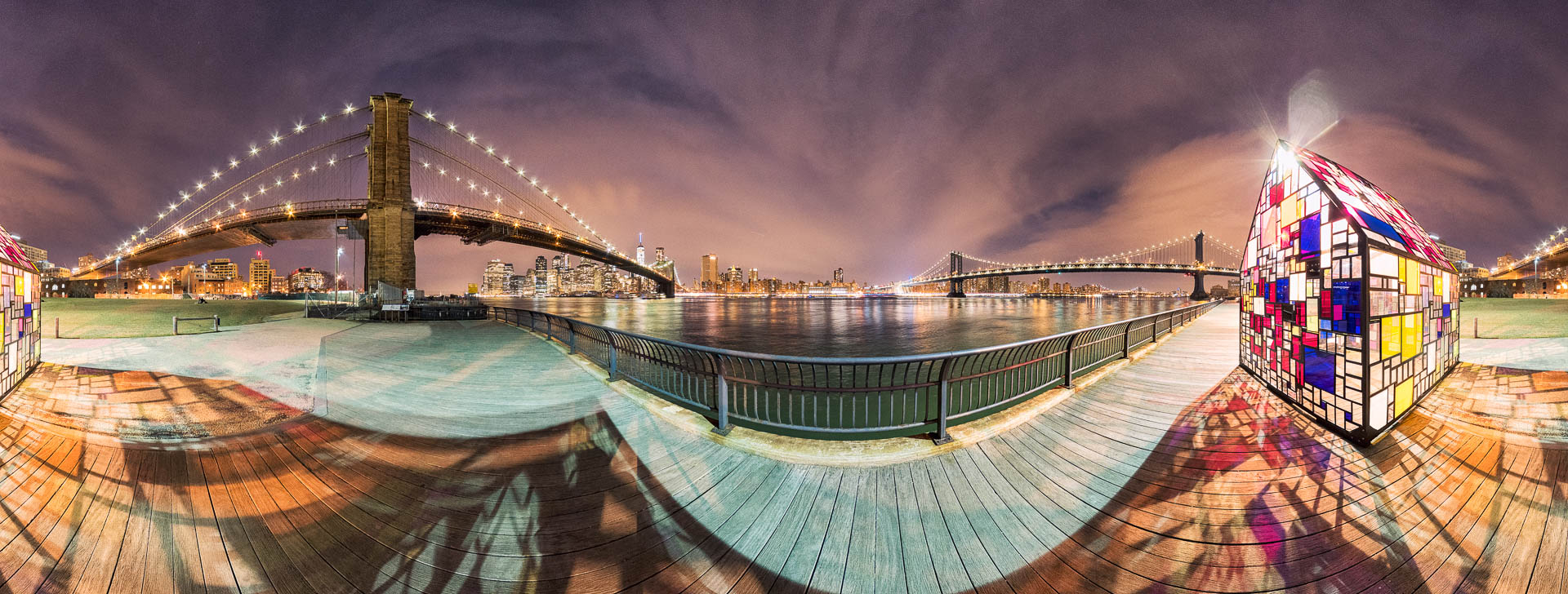NYC DUMBO Glass House by Tobi Bohn Panorama 360 Fotograf