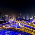 Shanghai Kreuzung Langzeitbelichtung Fotograf Tobi Bohn Berlin