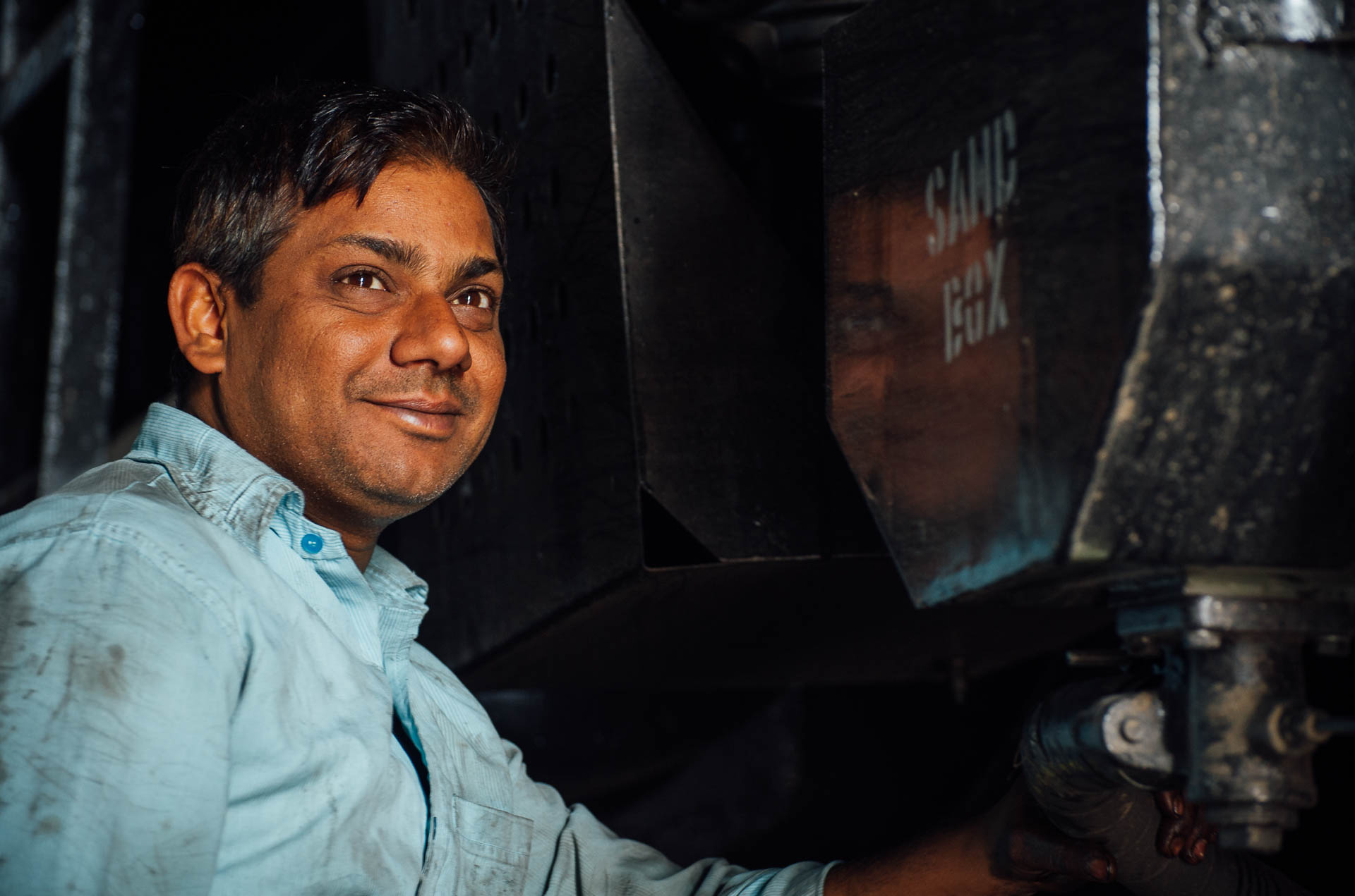 Arbeiter Indien Fotograf Tobi Bohn Berlin