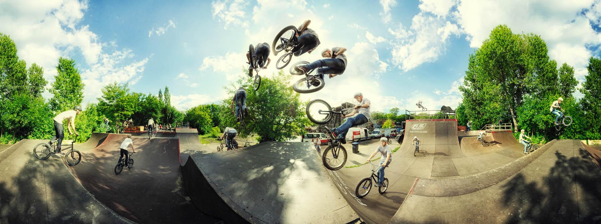 BMX Mellowpark by Tobi Bohn Panorama 360 Fotograf