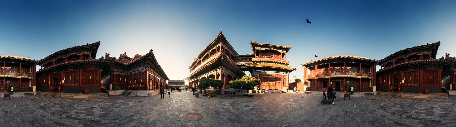 Lama Tempel in Beijing by Beijing by Tobi Bohn Panorama 360 Fotograf