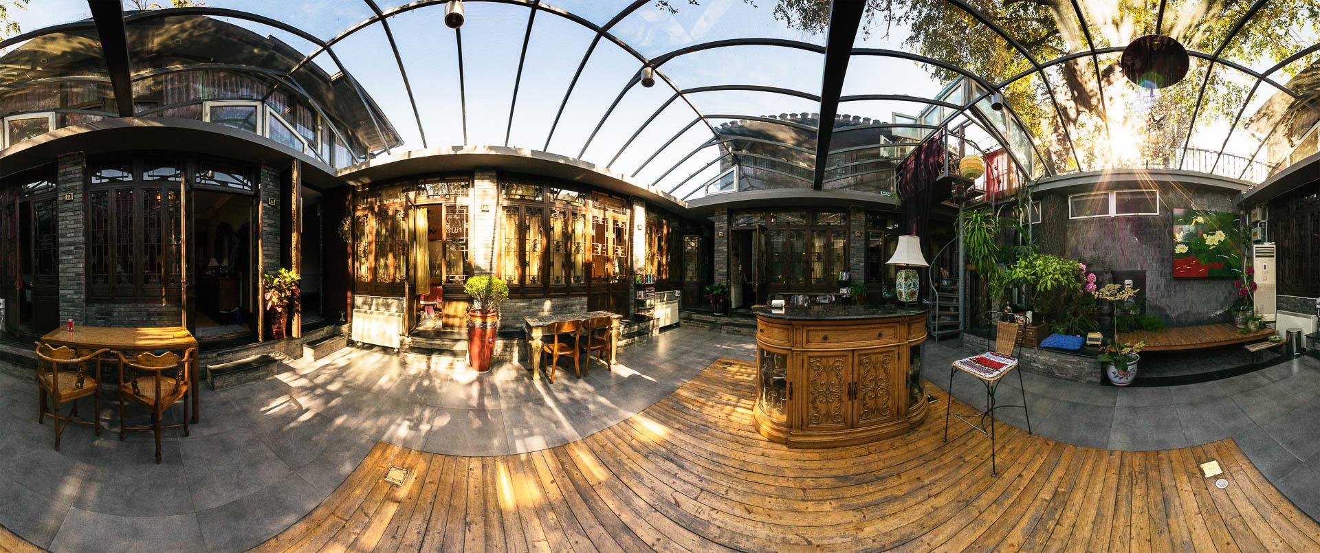 Hutong Hostel in Beijing by Beijing by Tobi Bohn Panorama 360 Fotograf