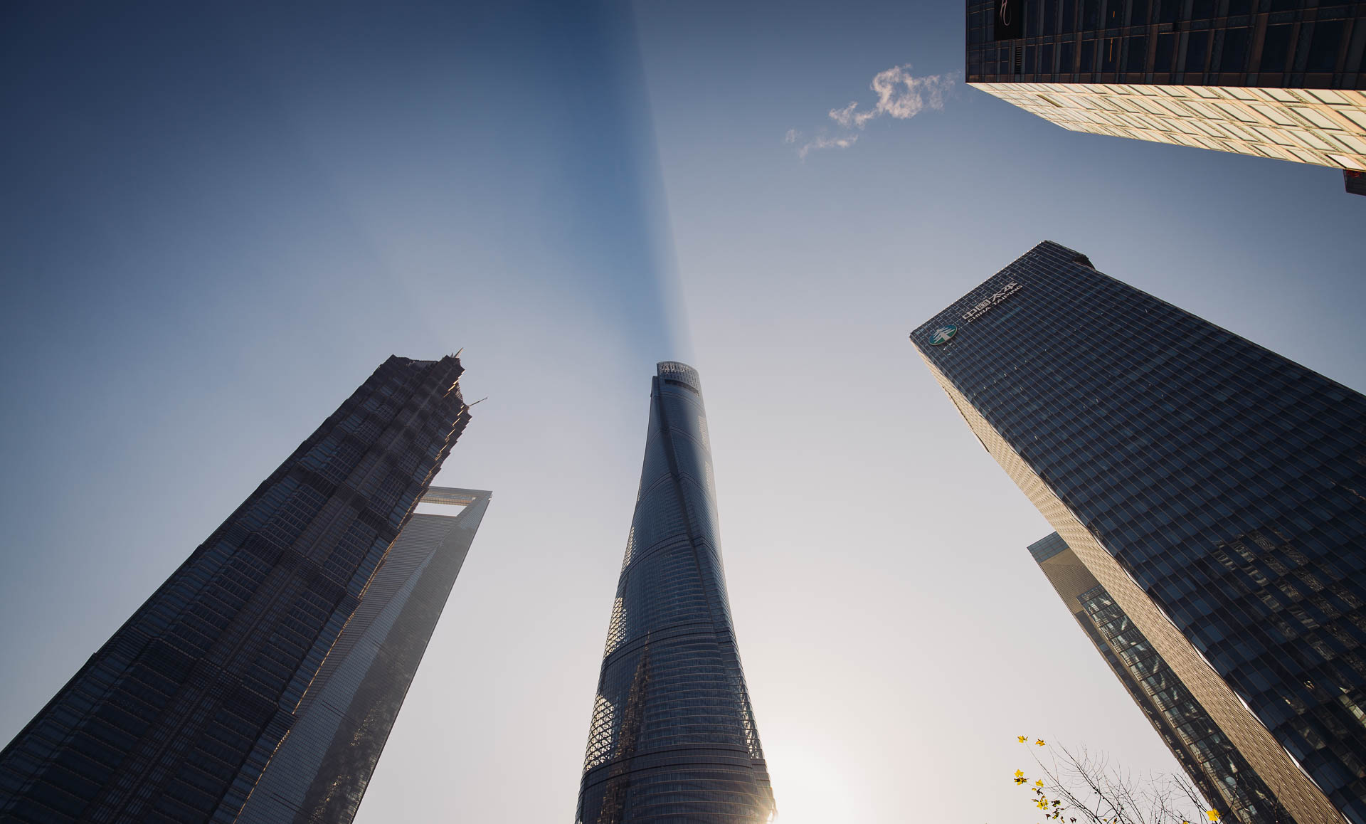 Shanghai Tower Sky