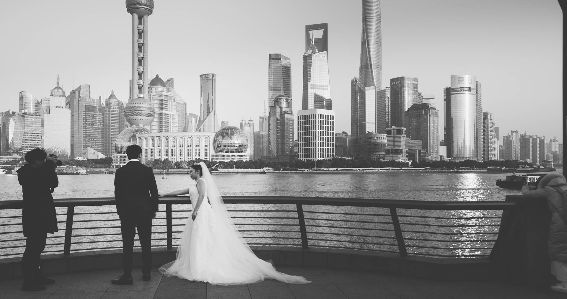 Shanghai Bund Wedding Photography