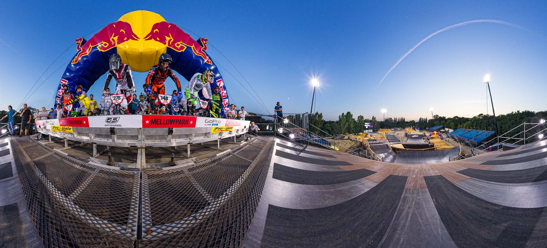 BMX Race Mellowpark – 360° Foto