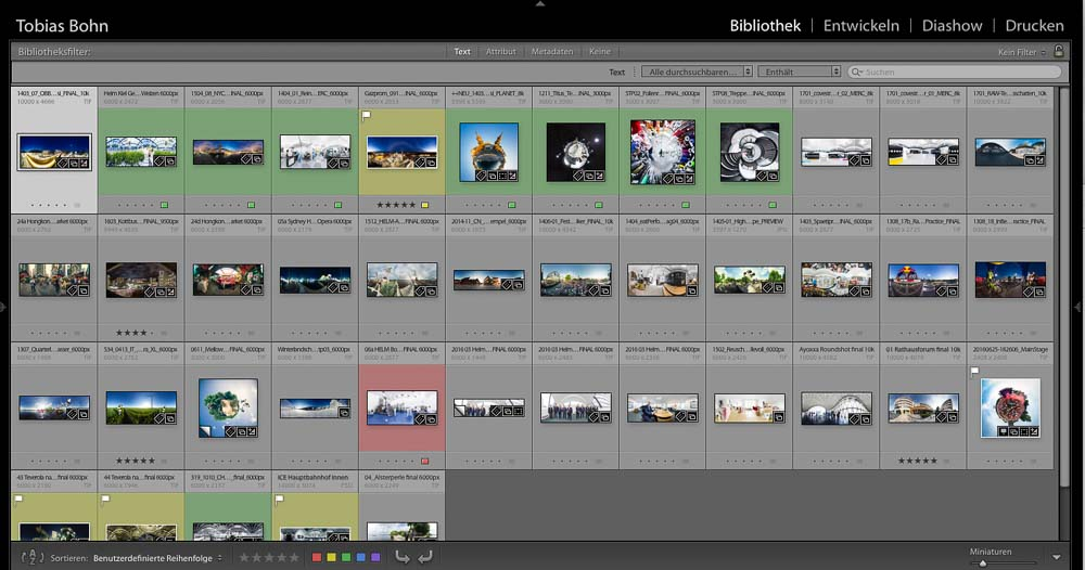 Previews aus Lightroom an Kunde