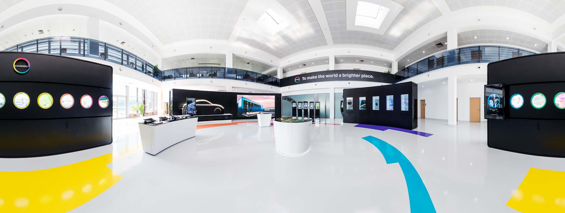 Showroom Unternehmen Corporate – 360° Foto