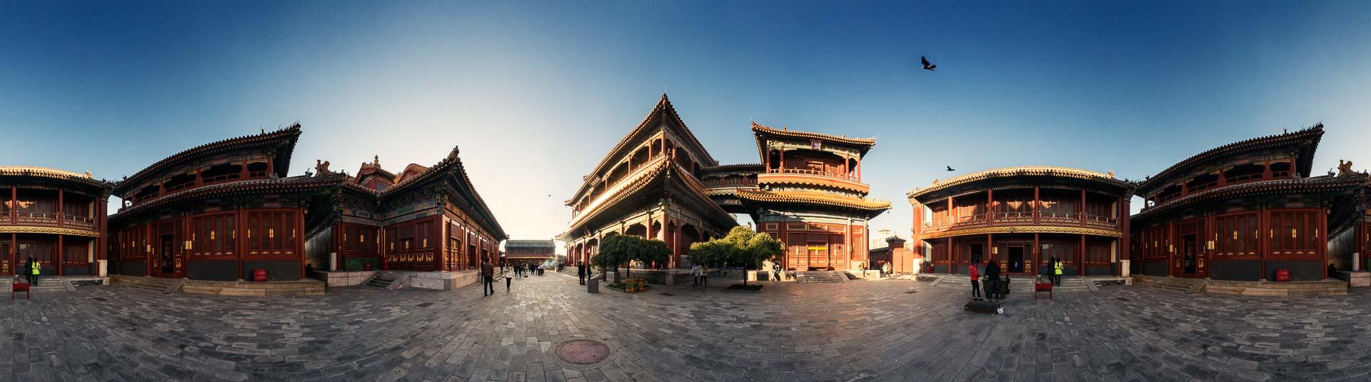 Beijing Lama Tempel – 360° Foto