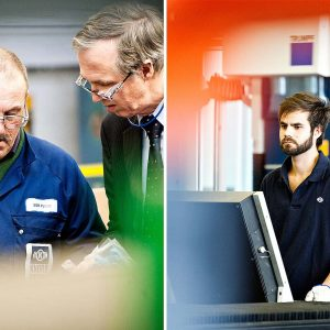 Management & Produktion – Industriefoto
