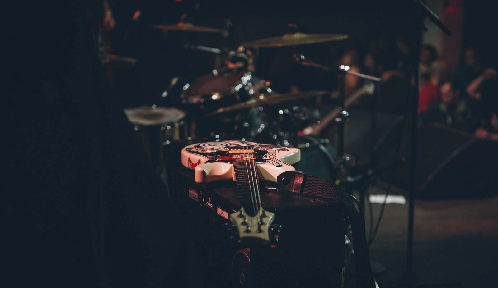 Gitarre on stage – Konzert Fotos Berlin