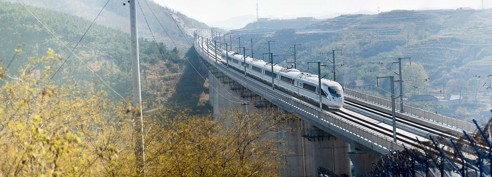 CRH Hochgeschwindigkeitszug in China – Industriefoto