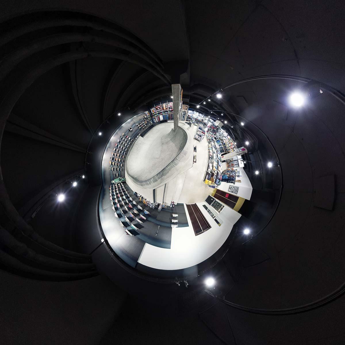 Titus Store Berlin Bowl – 360° Foto