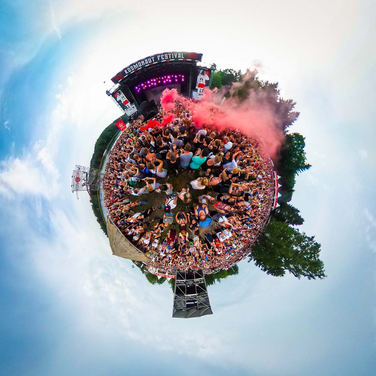 Kosmonaut Festival Little Planet – 360° Foto