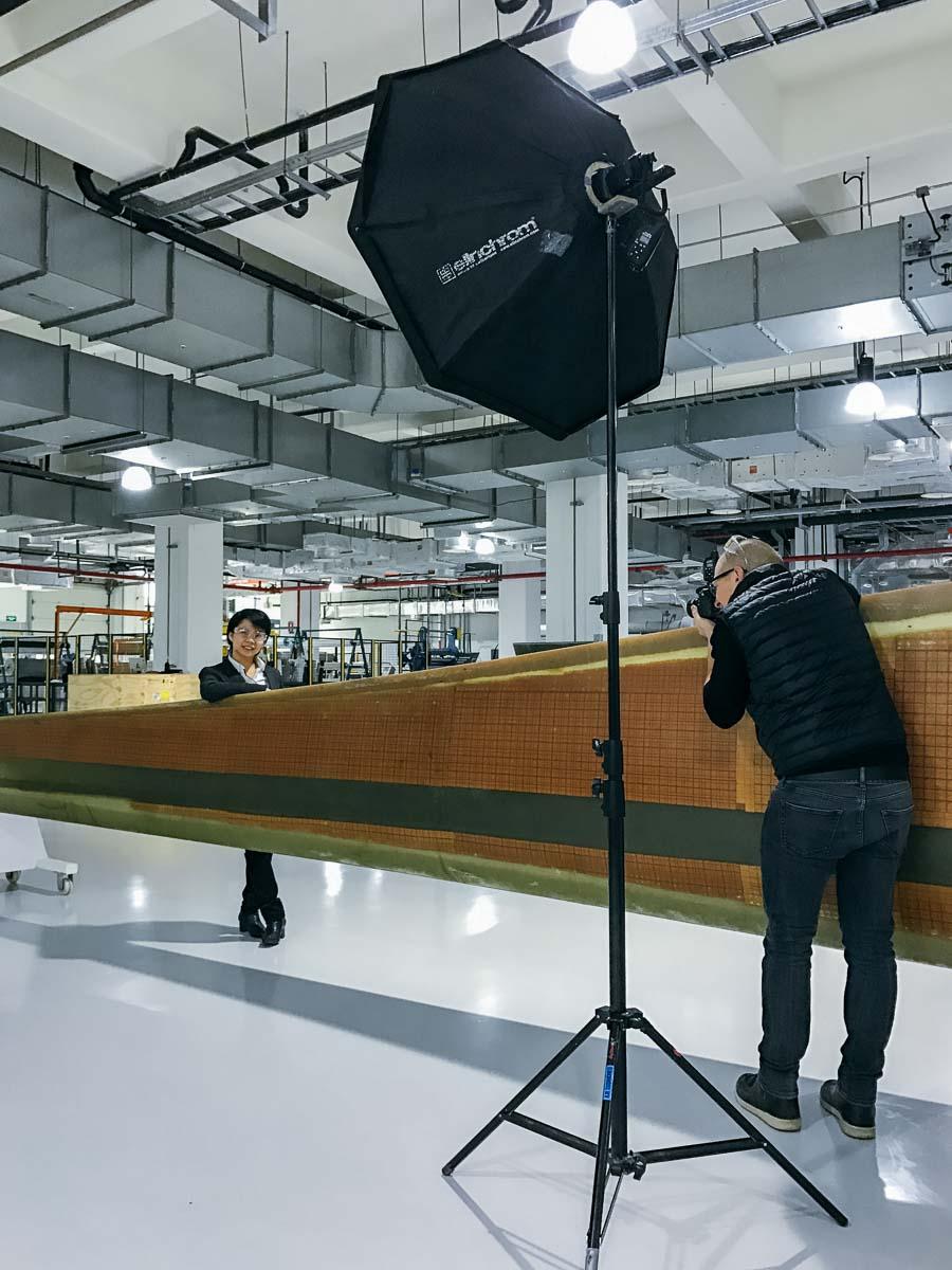 Industrie Fotograf Deutschland China Portraitshooting