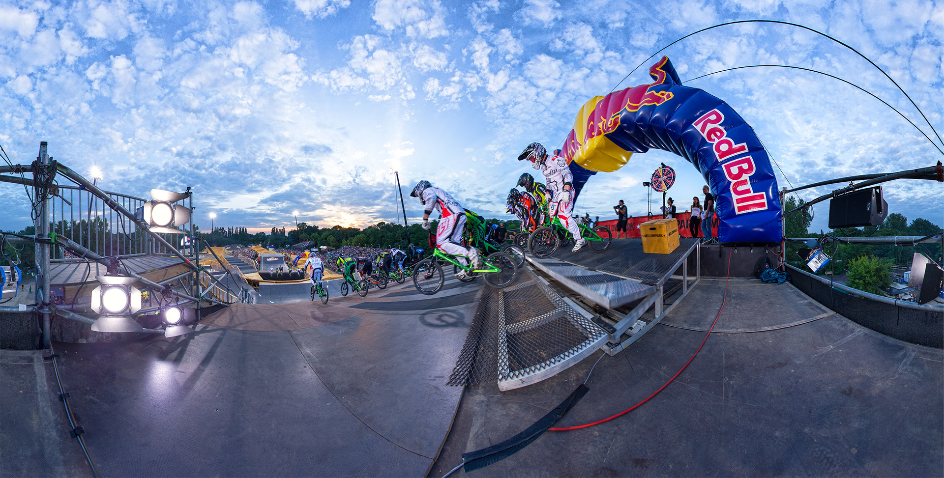 BMX Race Start Panorama 360 Tobi Bohn
