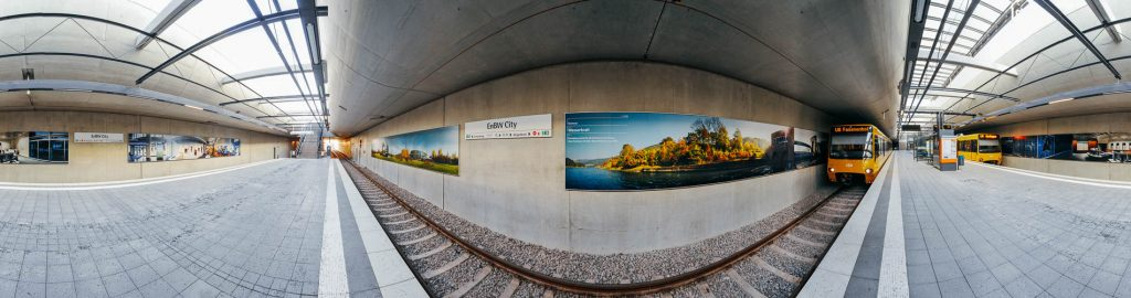 Panorama Print EnBW City