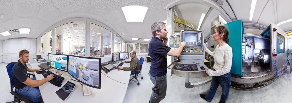 Zwei Locations von Siemens in einem 360 Grad Panorama