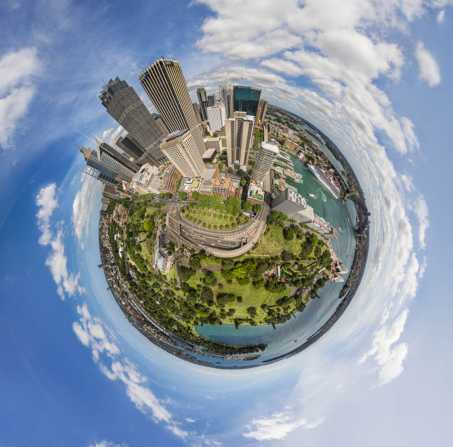 Little Planet Sydney Skyline