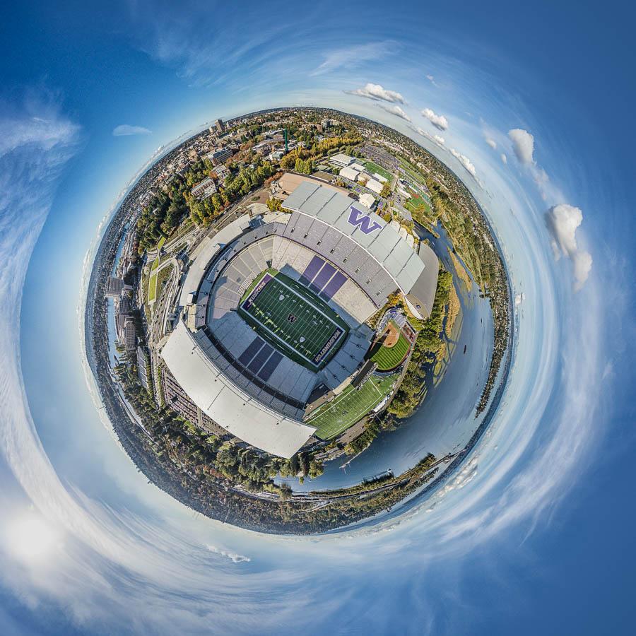 Little Planet Seattle Husky Stadium