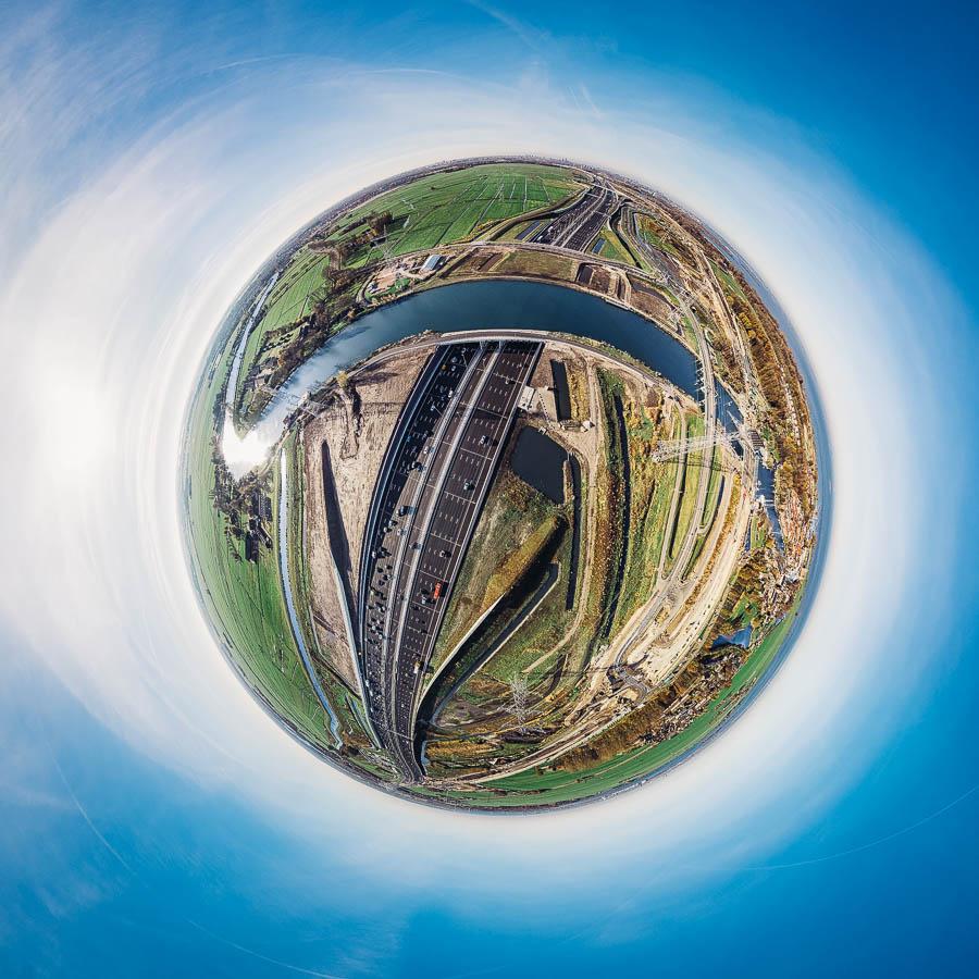 Little Planet Niederlande Autobahn