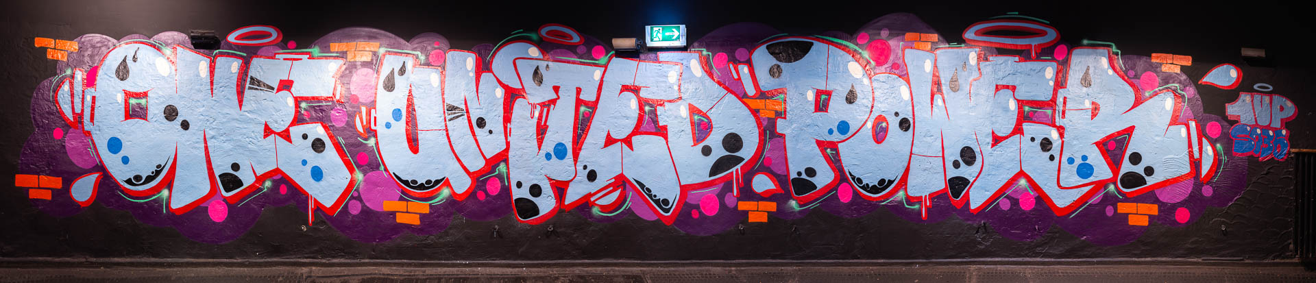 1UP Graffiti im SO36 Berlin
